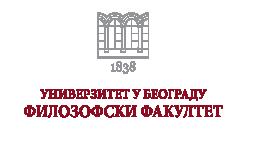 Univerzitet u Beogradu - Filozofski fakultet